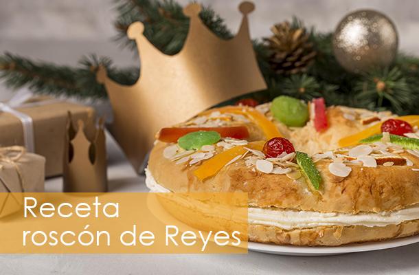 Receta del Roscón de Reyes casero. ¿Te animas a probarlo?