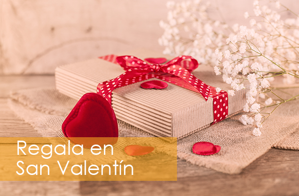 Regala San Valentín